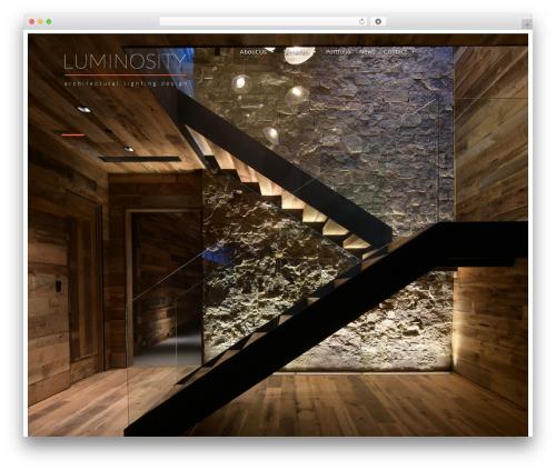Agora business WordPress theme - luminosityald.com