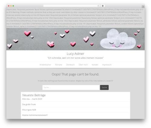 Best WordPress theme Base WP - lucyastner.de