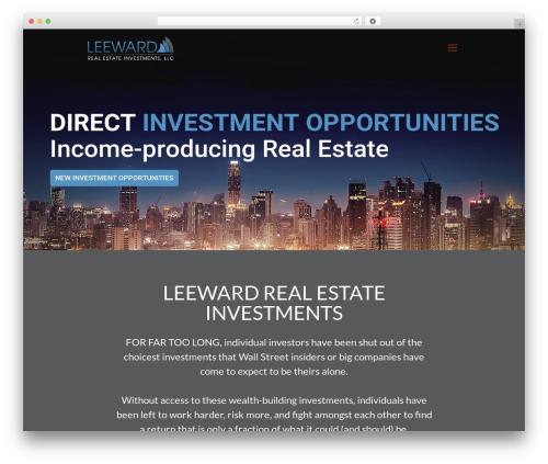 Betheme best real estate website - leewardrei.com