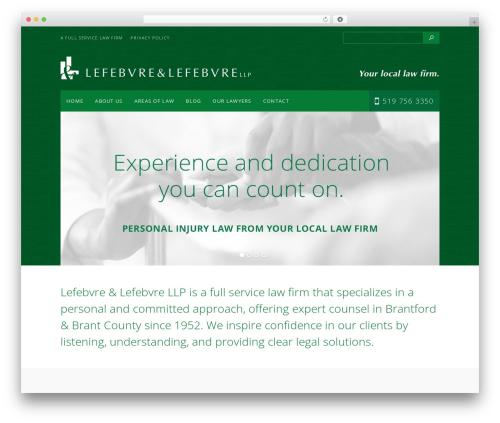 BUSINESS-ESSENTIALS-WP company WordPress theme - lefebvrelawyers.ca