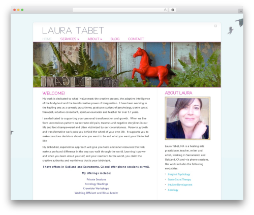Chameleon premium WordPress theme - lauratabet.com