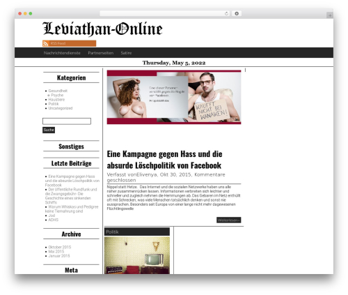 Giornalismo theme free download - leviathan-online.com