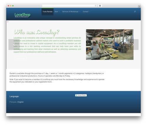 Vilan WordPress Theme WordPress store theme - locashop.ca