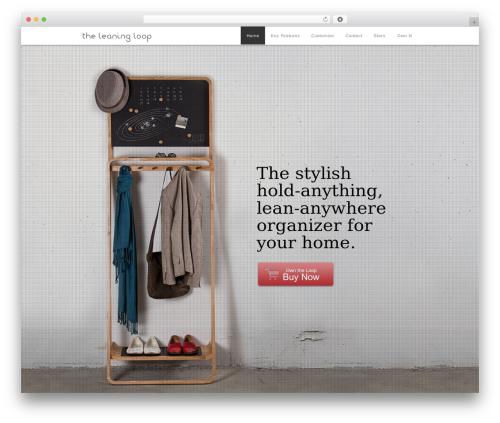 WordPress theme Encore - leaningloop.ca