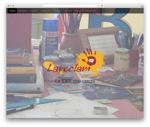 Arcade Basic WordPress theme - lareclam.com