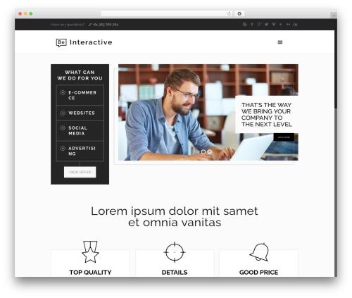 Betheme theme WordPress - legal-uae.com