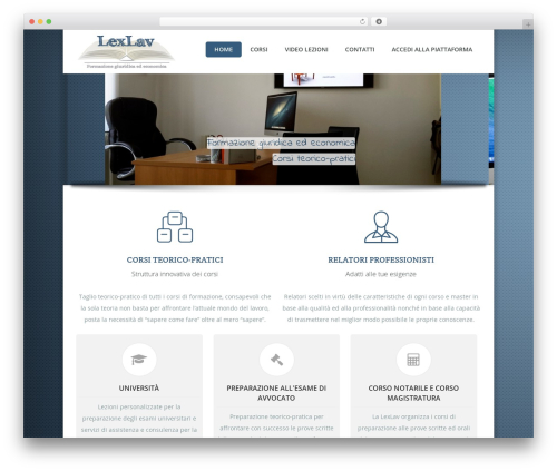 Guru WordPress theme design - lexlav.it