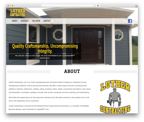 Latest theme free download - luthercontracting.com