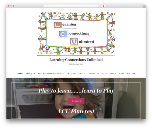 Primer WordPress theme - learningconnectionsunlimited.com