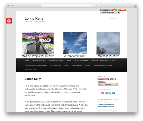 Free WordPress WP Accessibility plugin - lonnakelly.com