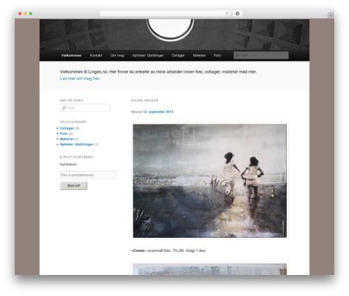 Twenty Eleven template WordPress - linges.no