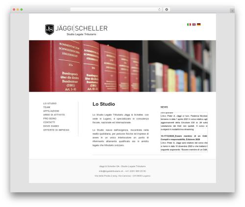 Free WordPress Twenty Eleven Theme Extensions plugin - legaletributario.ch