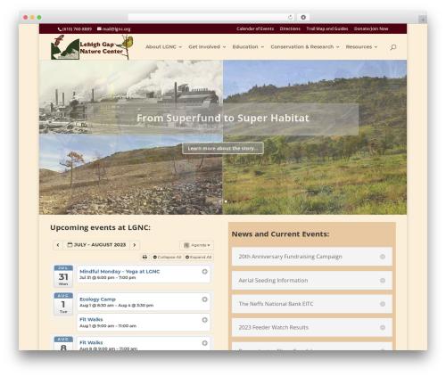 Free WordPress All-in-One Event Calendar plugin - lgnc.org