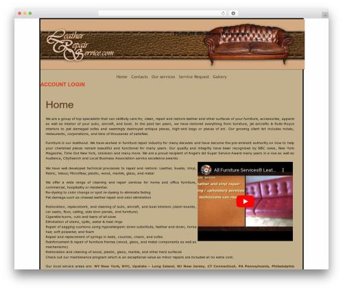 WP template Soho Serenity - leatherrepairservice.com