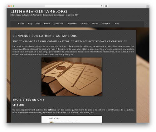 WP template The Erudite - lutherie-guitare.org