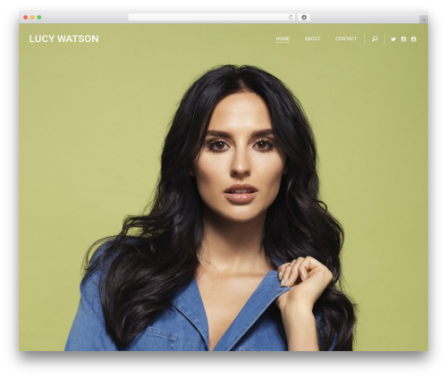 BARCH Theme WordPress website template - lucy-watson.com