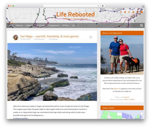 Bliss by Bluthemes WordPress theme - liferebooted.net