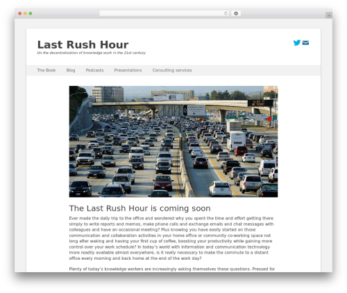 Catch Base Pro theme WordPress - lastrushhour.com
