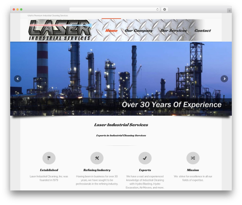 Lounge theme WordPress - laserindustrialservices.com