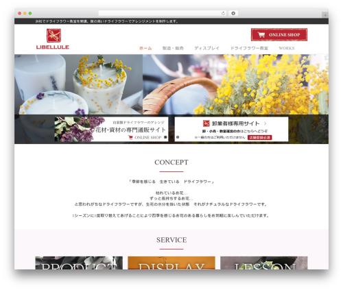 THBusiness free WordPress theme - libellule.jp