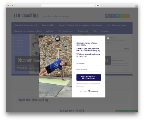 Free WordPress TablePress plugin - ltrcoaching.co.uk