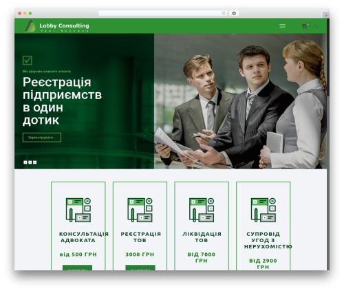 Betheme WP template - lobby-consulting.com
