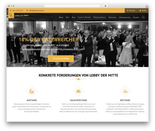 Helping Hand WordPress theme - lobbydermitte.at