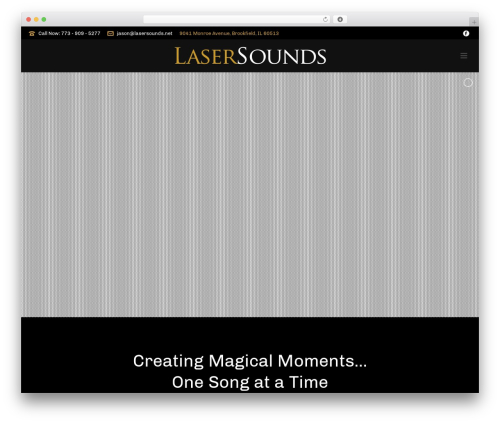 Free WordPress TablePress plugin - lasersounds.net