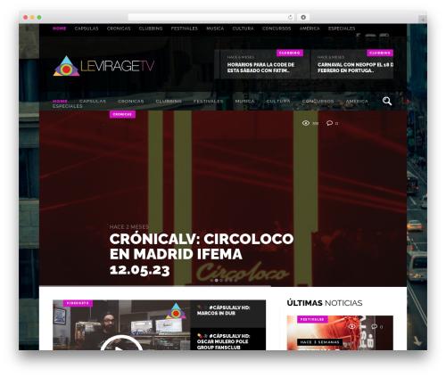 Sowe premium WordPress theme - leviragetv.com