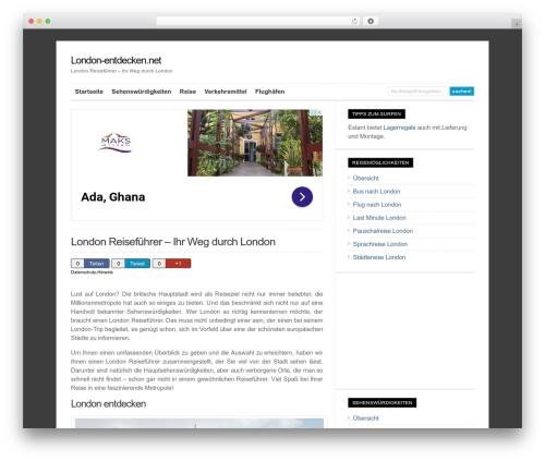 WordPress theme WP-Ellie - london-entdecken.net