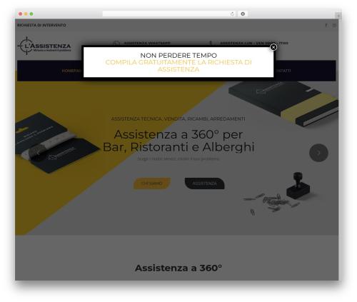 WordPress website template TheBuilt - lassistenza.net