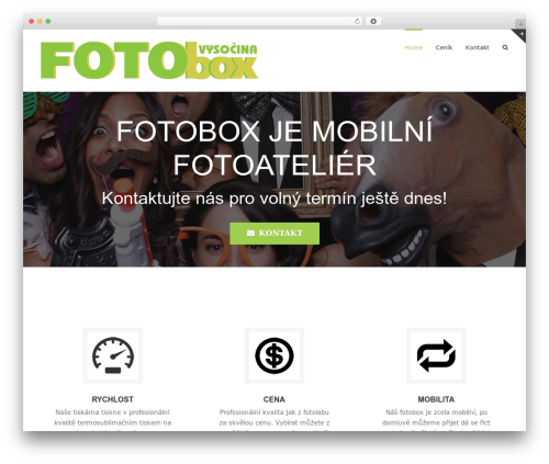 Avada best WordPress template - fotokoutek.eu