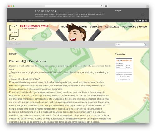 Best WordPress theme Cubby - frankiewins.com