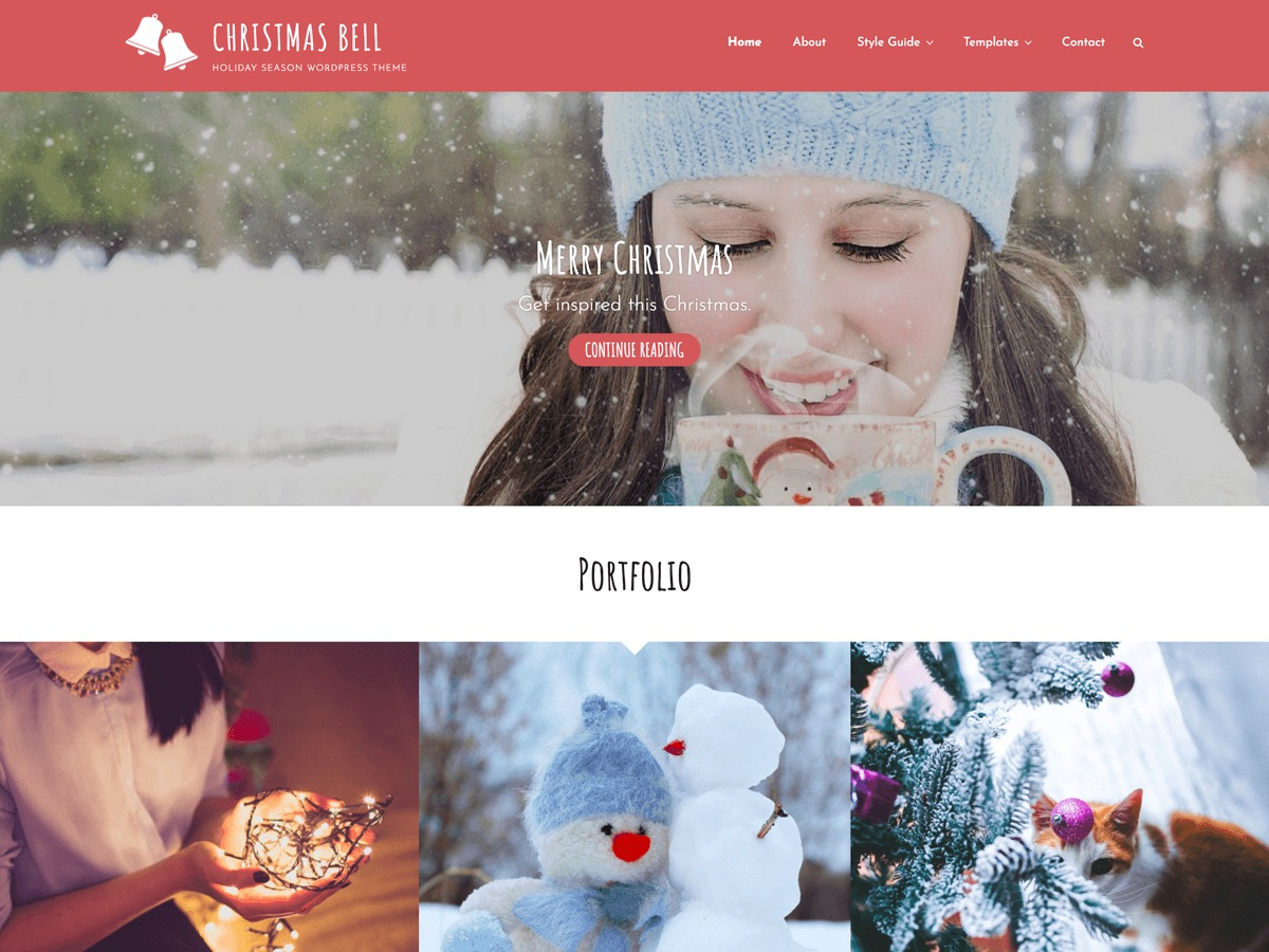 Christmas Bell theme free download
