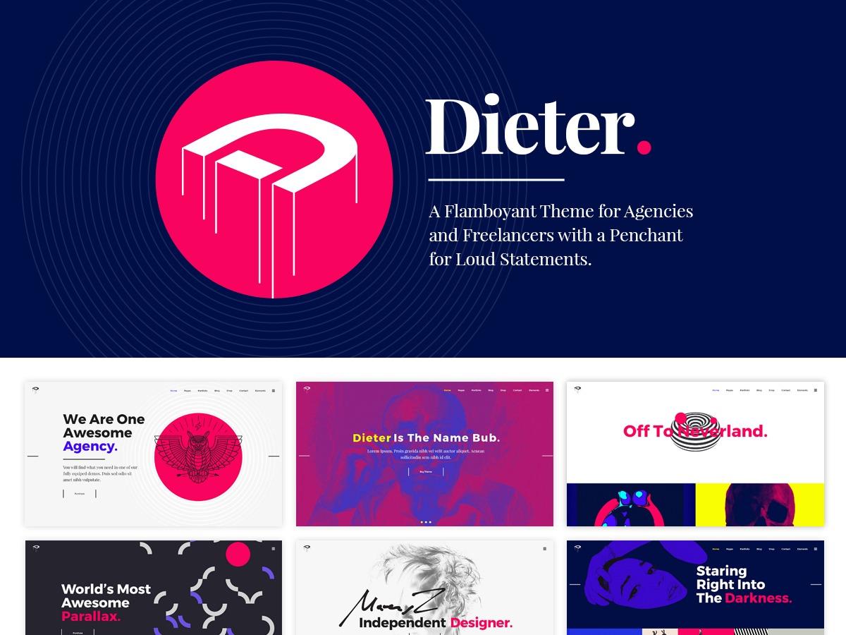 Dieter theme WordPress