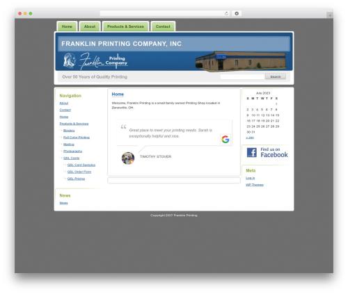Digg 3 Columns WordPress theme by Small Potato