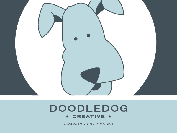 Doodle Dog Custom Theme template WordPress