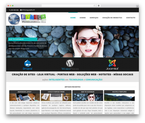 Formation WordPress theme - fptech.pt