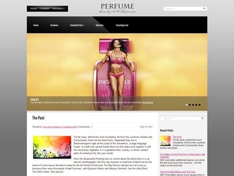 Perfume theme WordPress