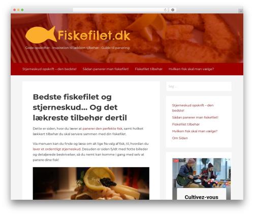 Primer WordPress page template - fiskefilet.dk