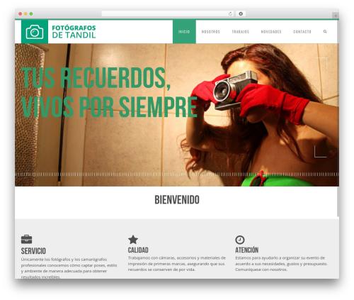 Senna WordPress theme - fotografosdetandil.com