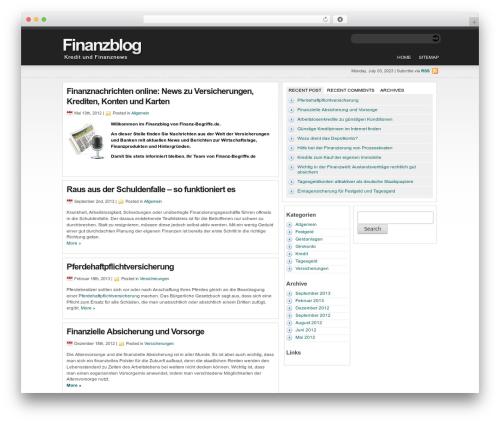 statement theme WordPress free - finanzen.finanz-begriffe.de