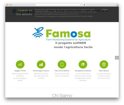 Template WordPress Punto - famosasrl.com