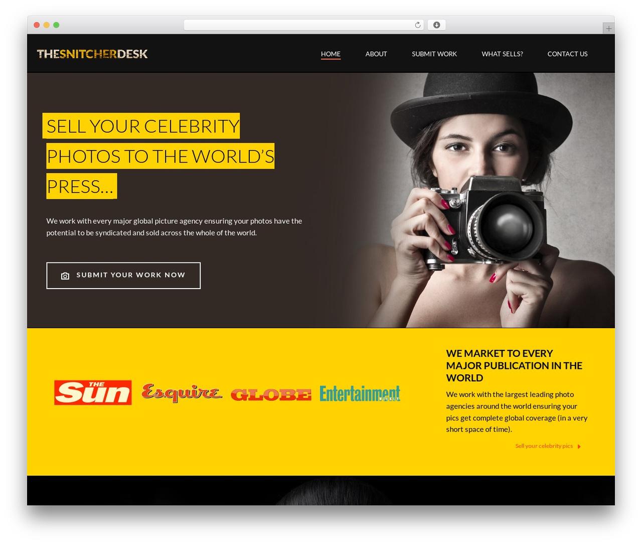 Theme WordPress jupiter - thesnitcherdesk.com