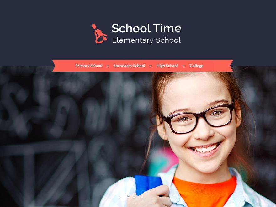 Theme WordPress School Time Child Theme