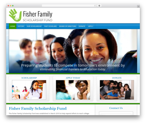 Theme WordPress Triggerfish Responsive - fisherfamilyscholarship.org