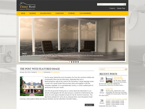 ThingReal WordPress theme