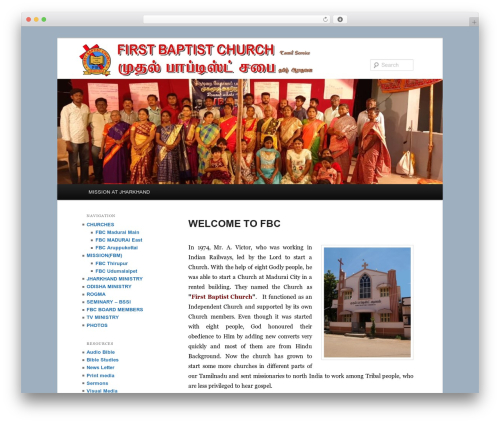 WordPress contus-video-gallery plugin - firstbaptistmdu.org