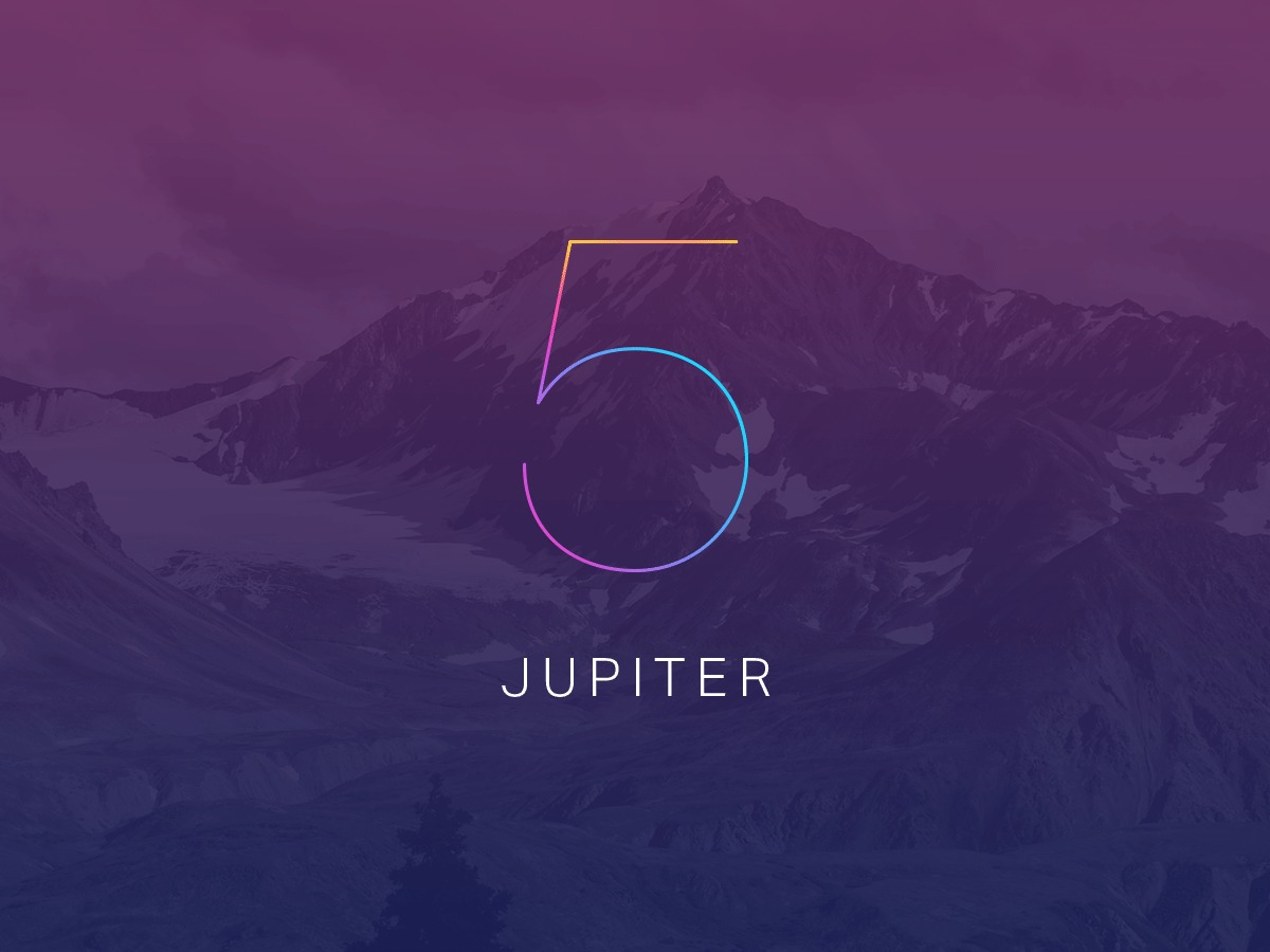 WordPress template Jupiter