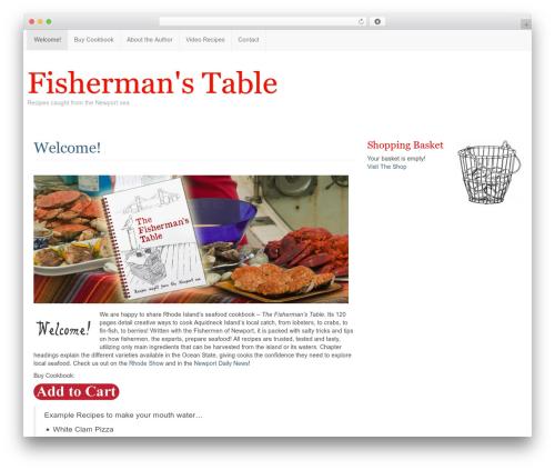 WordPress theme Custom Community - fishermanstable.com